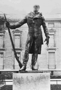 statue du général Dumas par Perrin de Moncel 1913